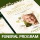 Heaven's Gain - Funeral / Memorial Program 02
