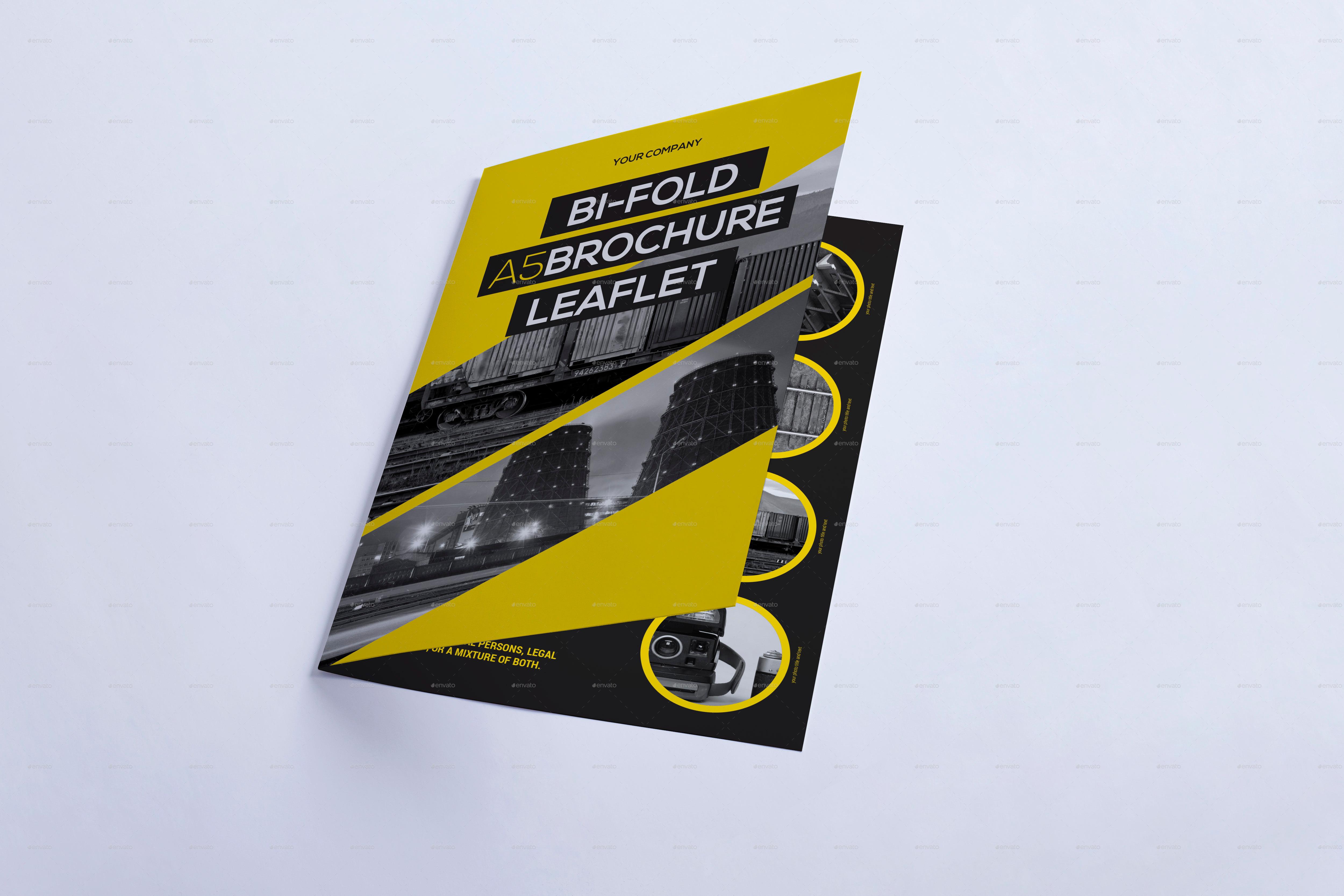 bi-fold a5 brochure