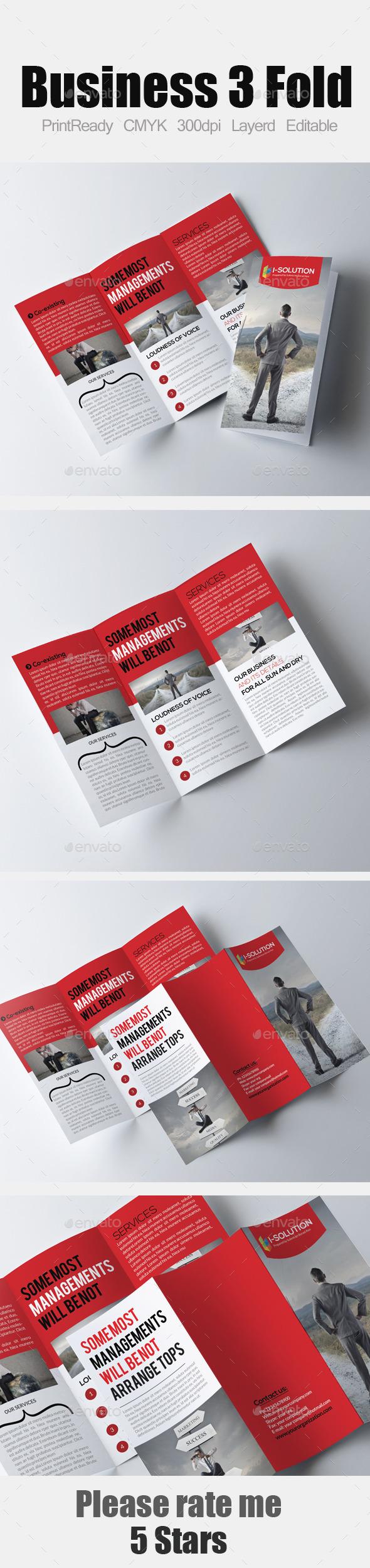 Corporate Tri Fold Business Brochure - Corporate Brochures