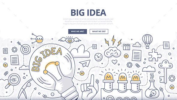Big Idea Doodle Concept - Miscellaneous Conceptual