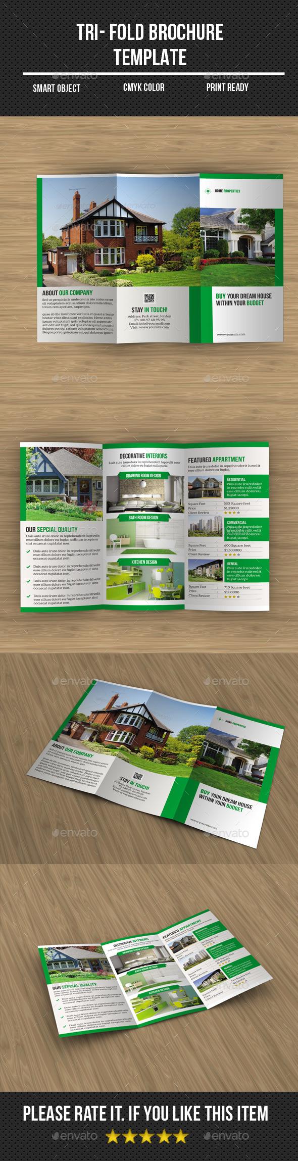 Real Estate Tri- Fold Brochure - Corporate Brochures