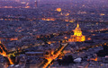 Beautiful skyline of Paris, France