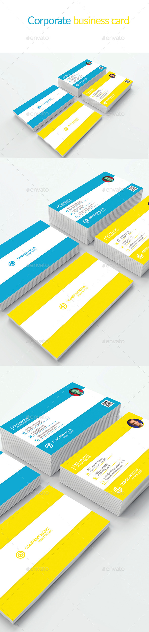 good looking business card - Business Cards Print Templates