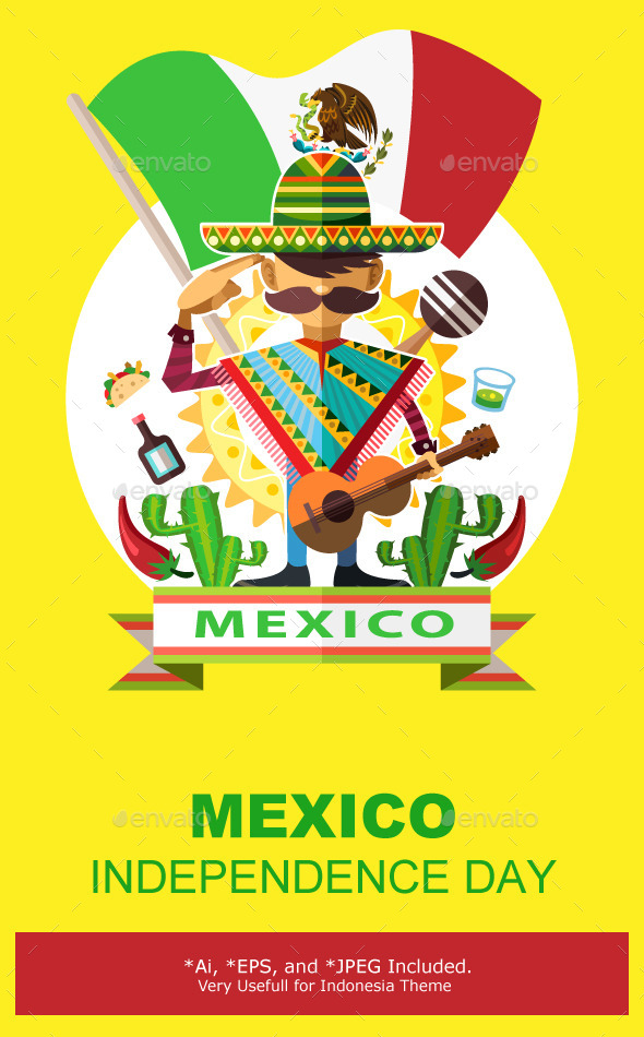 Mexico Independence Day - Miscellaneous Seasons/Holidays