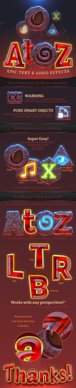 AtoZ Epic Text & Logo Effect