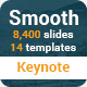 Smooth Keynote Presentation Template - GraphicRiver Item for Sale