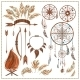 Ethnic Elements with Arrows and Feathers - GraphicRiver Item for Sale