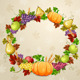 Autumn Illustration for Thanksgiving Day - GraphicRiver Item for Sale