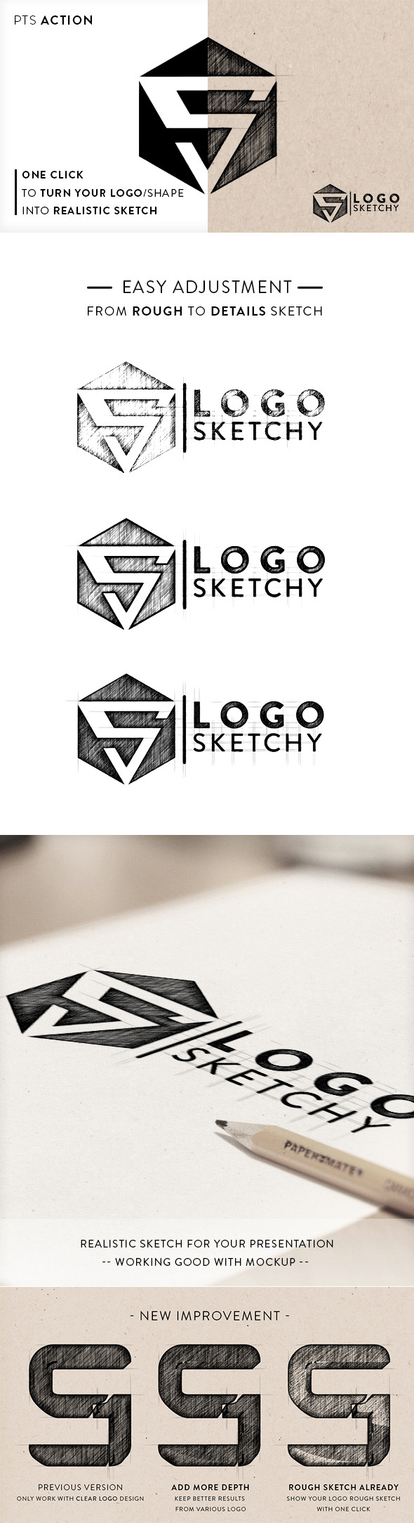 Logo Sketchy - Utilities Actions