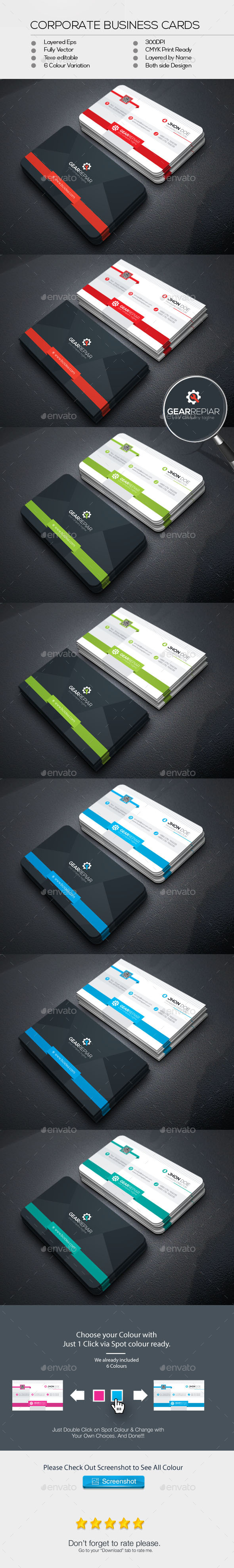 GearRapier Business Cards