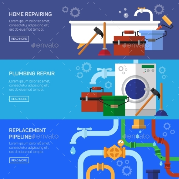 Plumbing Repair - Services Commercial / Shopping
