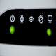Five Blinking Lights on Wi-Fi Network Router - VideoHive Item for Sale