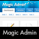 Magic Admin. Beautiful Professional Admin Template - ThemeForest Item for Sale