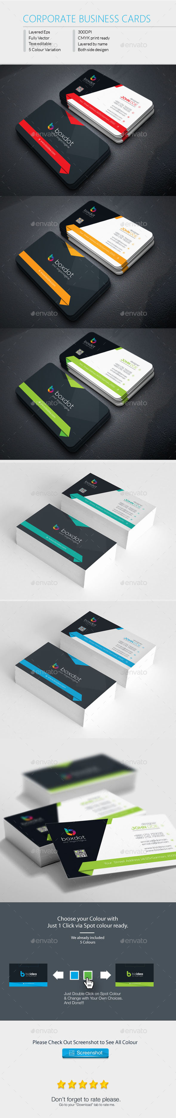 Boxdot Business Cards