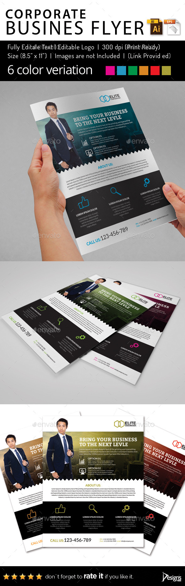 Multipurpose Business Flyer 64 - Corporate Flyers