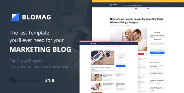 BloMag WordPress Theme – Exclusively for Marketers