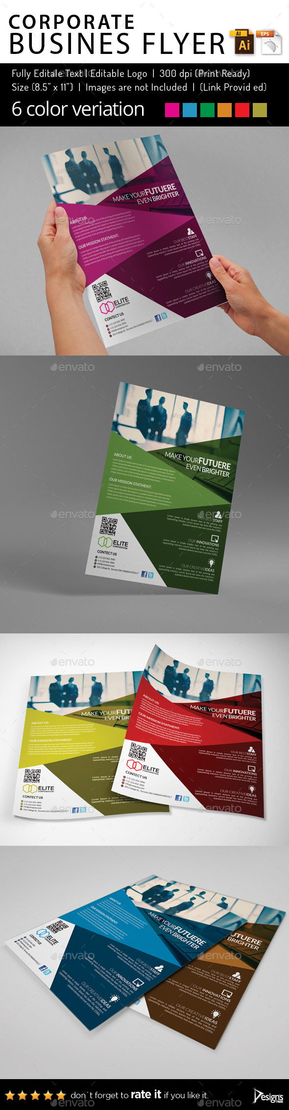 Multipurpose Business Flyer 66 - Corporate Flyers