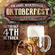 The Oktoberfest Flyer Template - GraphicRiver Item for Sale