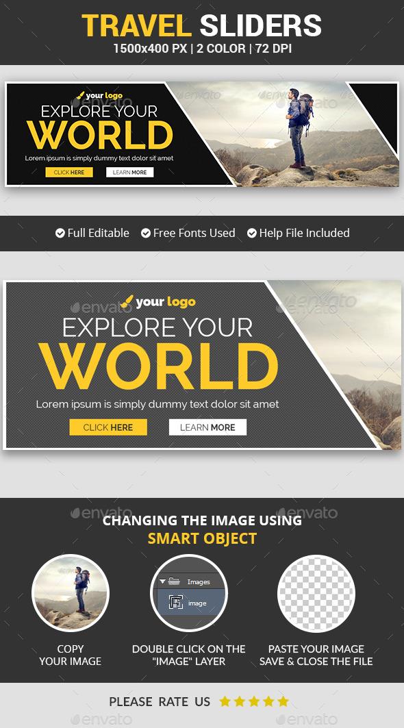 Travel Slider v9 - Sliders & Features Web Elements