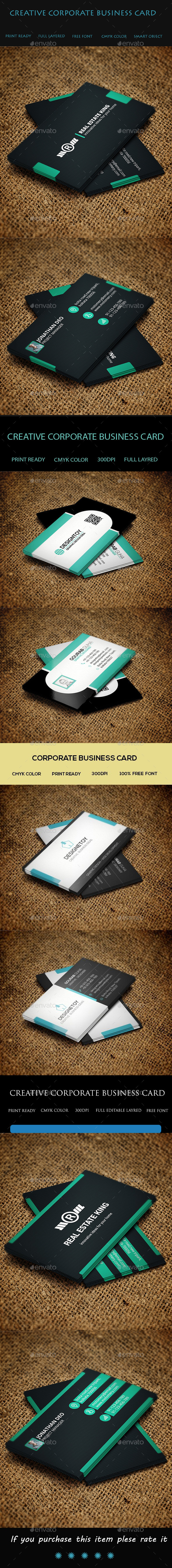4 in 1 Business Card Bundle