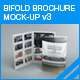 Bifold Brochure Mock-up 03