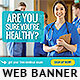 Medical Exam Web Banner Design - GraphicRiver Item for Sale
