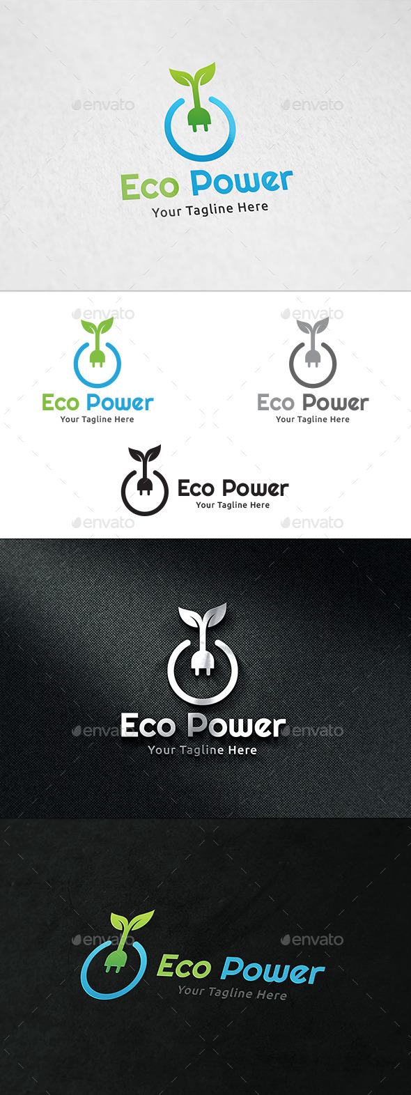 Eco Power Logo