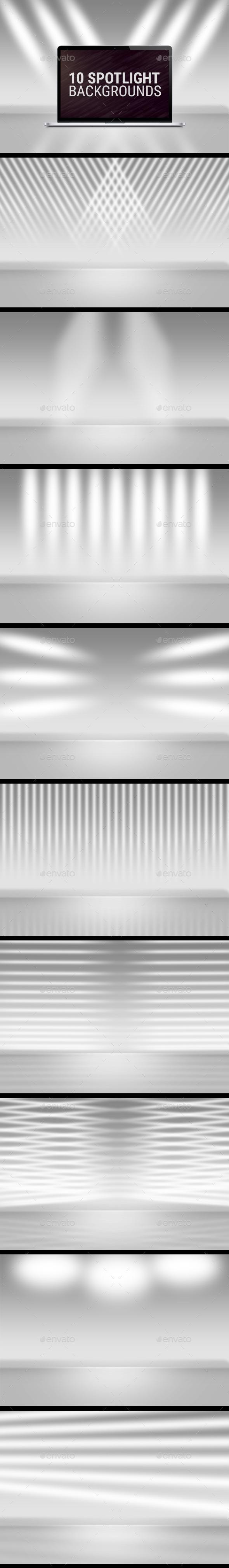 10 Spotlight Backgrounds