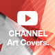 Featured Youtube channel art covers - GraphicRiver Item for Sale
