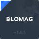BloMag HTML5 Template - Exclusively for Marketers - ThemeForest Item for Sale