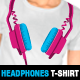 8 Vector Professional Dj Headphones Templates - GraphicRiver Item for Sale