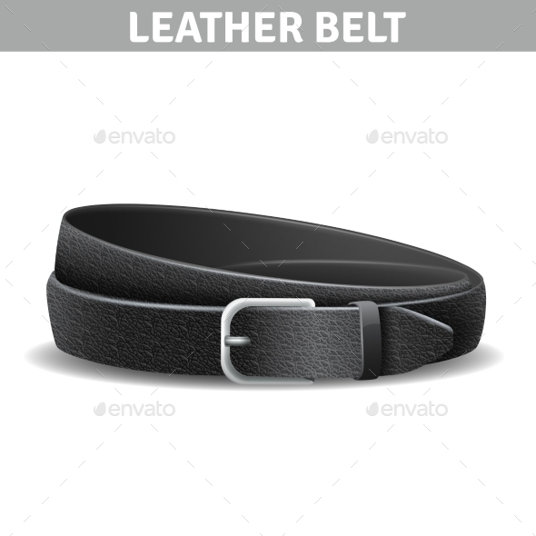 Leather Belt Illustration  - Retail Commercial / Shopping
