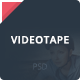 VideoTape PSD Template Nulled