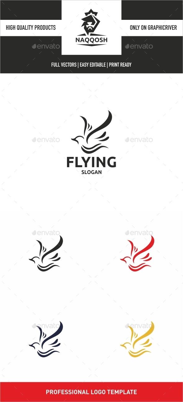 Flying - Animals Logo Templates