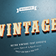 14 Retro / Vintage Text Effects V.2 - GraphicRiver Item for Sale