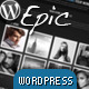 Epic WordPress Theme - ThemeForest Item for Sale