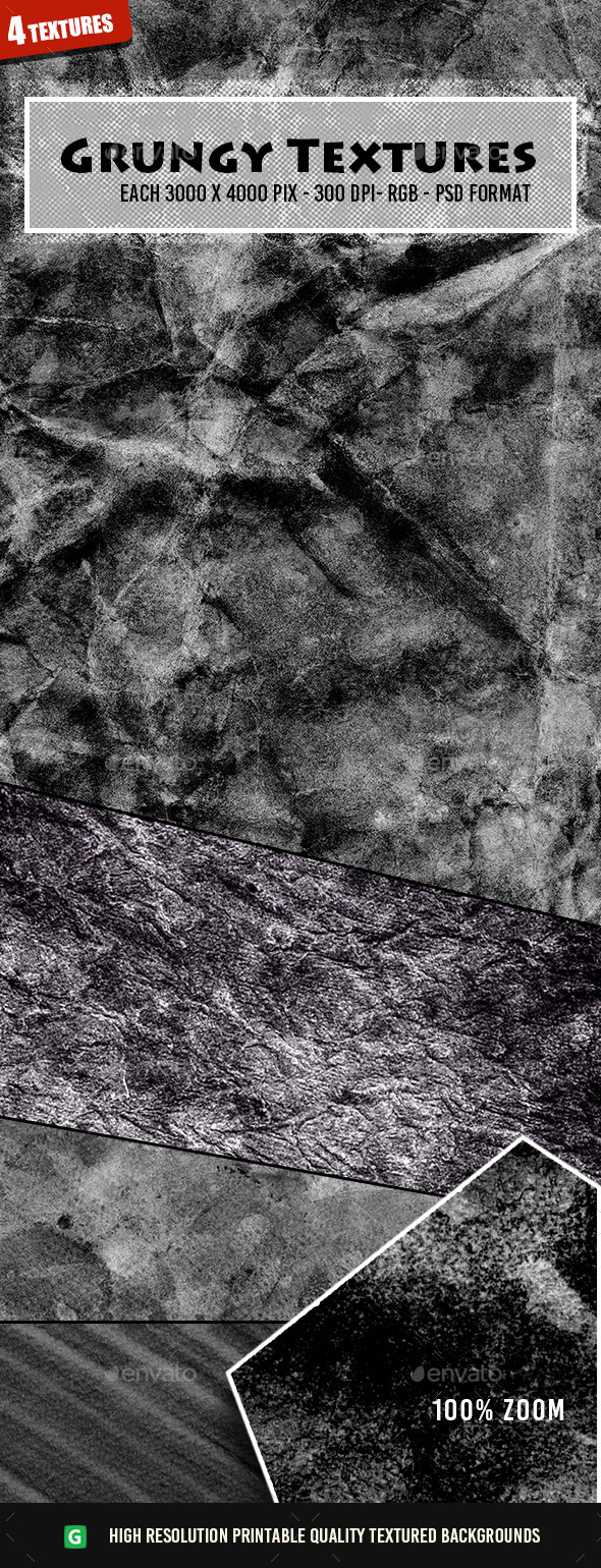 Grungy Texture Pack 76