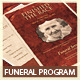 Heaven's Gain - Funeral / Memorial Program V.5