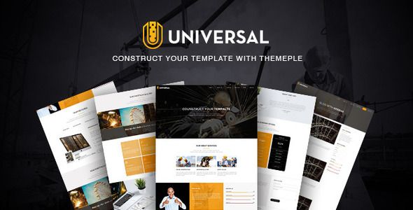 Universal – Responsive Business Template