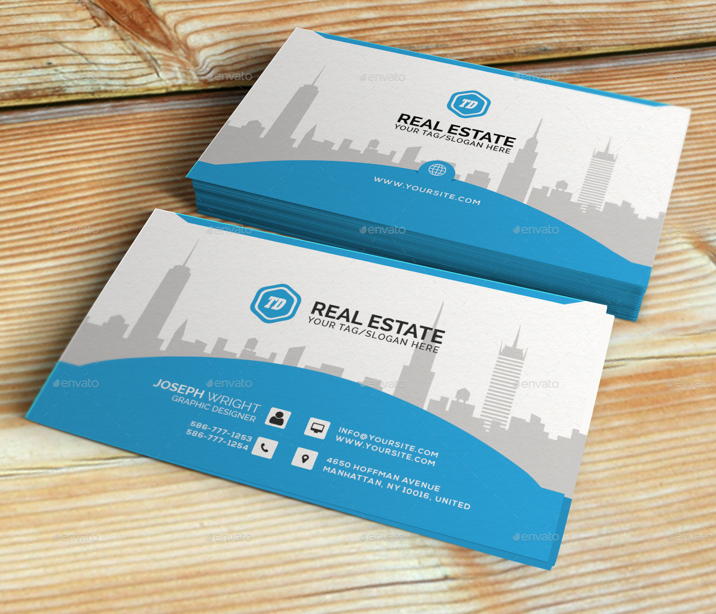 Real estate business card template by themedesk graphicriver real estate business card template corporate business cards previewpreview 00g previewpreview 01g accmission Images