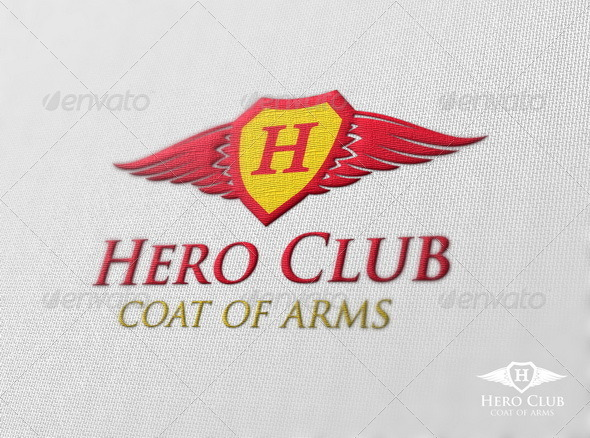 Hero Club - Symbols Logo Templates