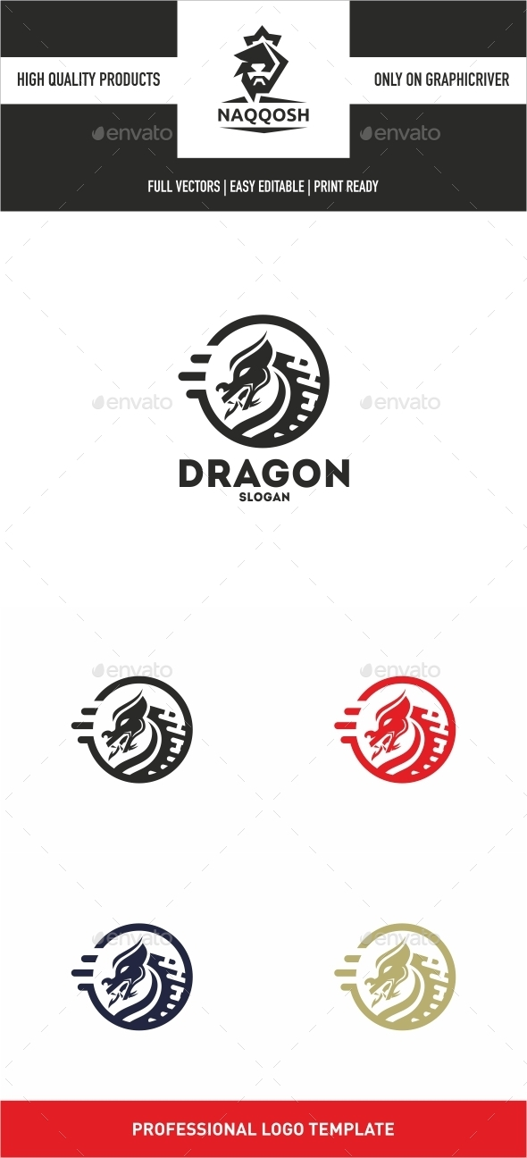 Dragon - Symbols Logo Templates