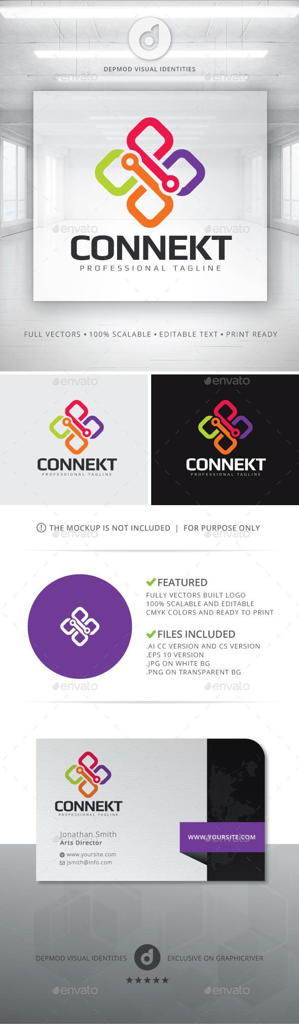 Connekt Logo - Abstract Logo Templates
