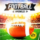 American Football Game Flyer vol.5 - GraphicRiver Item for Sale