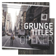 Grunge Titles Opener - VideoHive Item for Sale