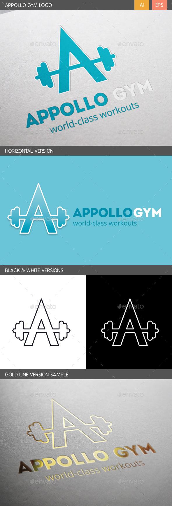 Appollo Gym Logo - Letters Logo Templates