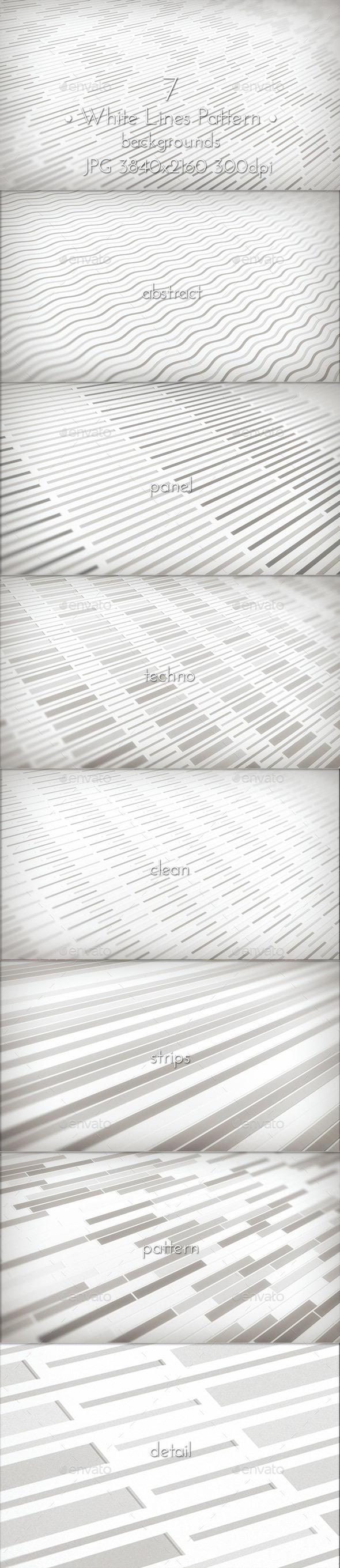White Lines Pattern - Patterns Backgrounds