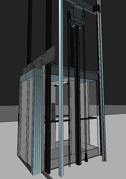 Elevator Lift 3d Model Produced By Otis By Visualcg 3docean