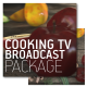 Cooking TV Show Broadcast Package  - VideoHive Item for Sale