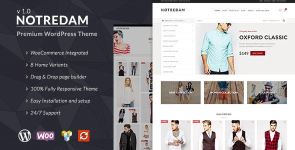 Notredam – Premium WooCommerce Theme